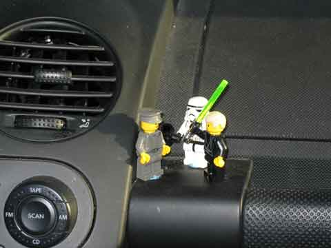 Lego Star Wars Figures on Chris' Dashboard