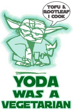Yoda was a vegetarian