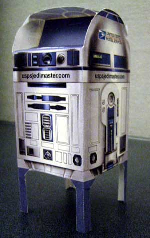Paper R2 Mailbox